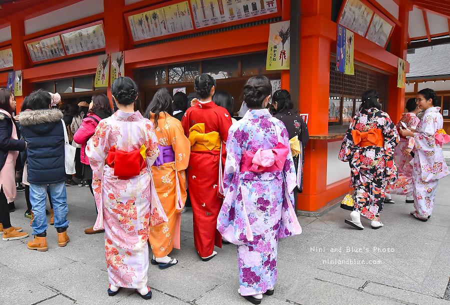 京都景點推薦 伏見稻荷神社 鳥居 怎麼去08