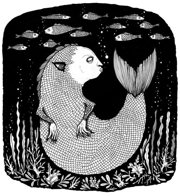 lurking fishie