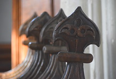 17th Century stall ends