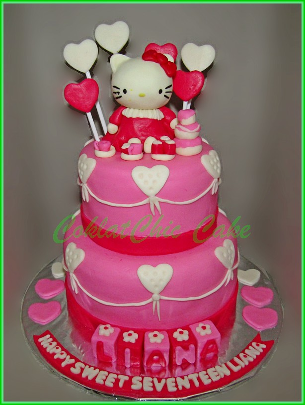 Cakcme Hello Kitty LIANA 15 cm dan 12