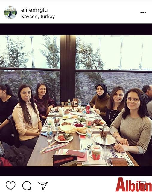 Dr. Elif Emiroğlu, yakın dostlarıyla Kayseri'de hasret giderdi.