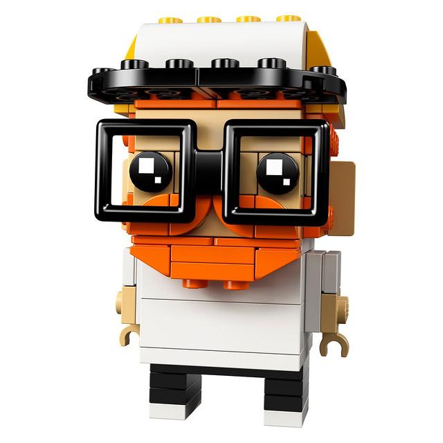 玩樂高那麼久,是時候拼搭出一個「自己」了吧~~LEGO 41597 BrickHeadz 系列【拼出自己】Go Brick Me 創意無限登場~