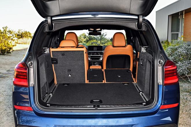 [新聞照片三] 全新BMW X3 xDrive20i具備550公升的行李廂空間,並可擴充到超乎想像的1600公升,靈活應對車主各式生活與載物需求。