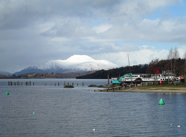 Snow on Ben Lomond