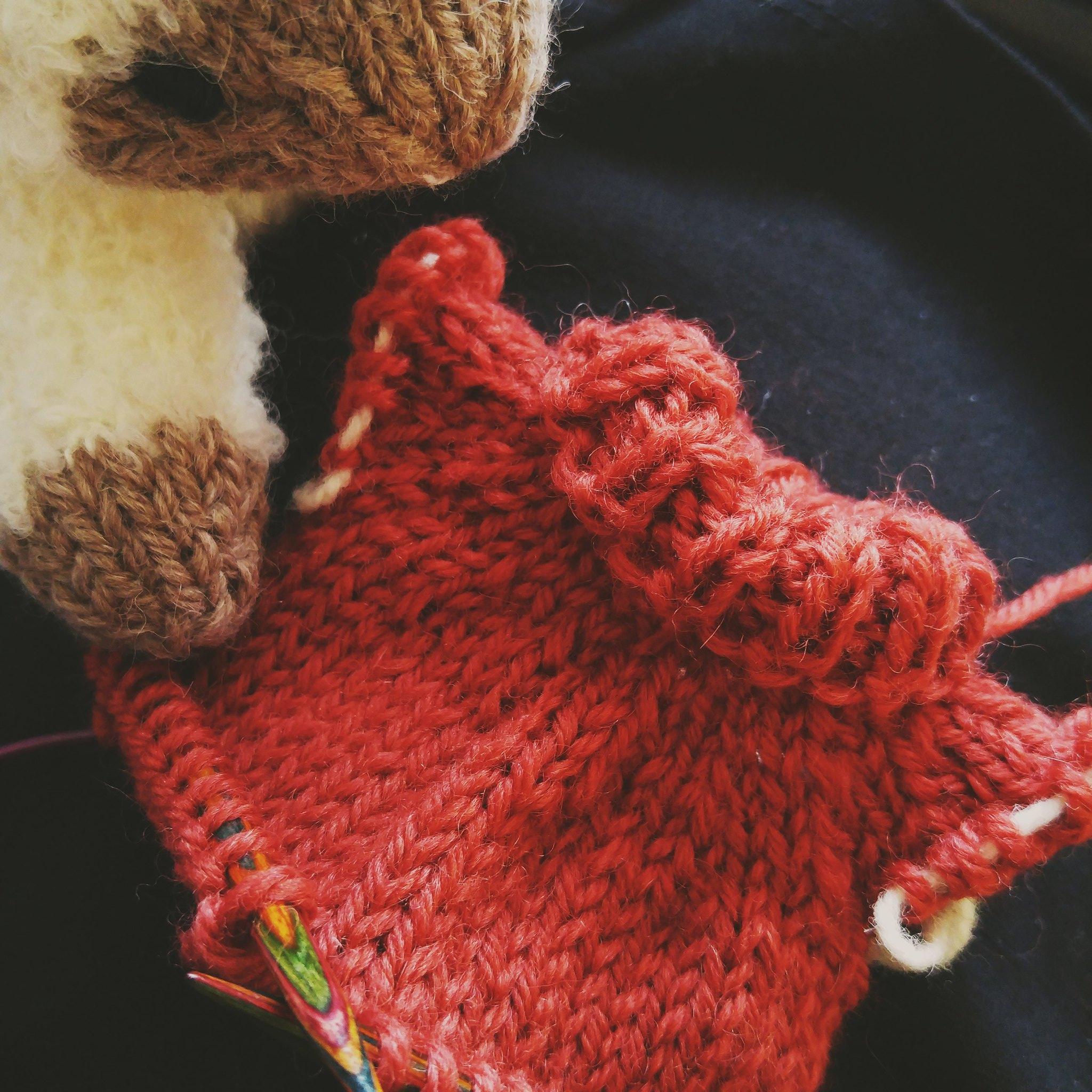 wip: Basil's sweater