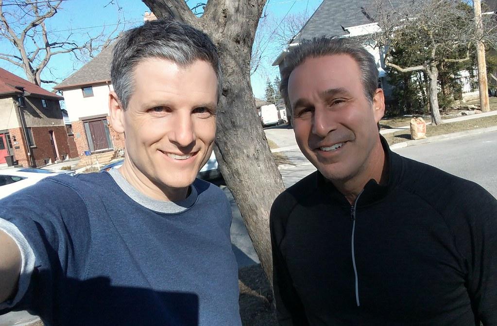 Ken Daniels and me