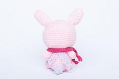 Marshmallow Chan Bunny Amigurumi