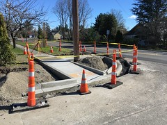 Crosswalk improvements in Anacortes
