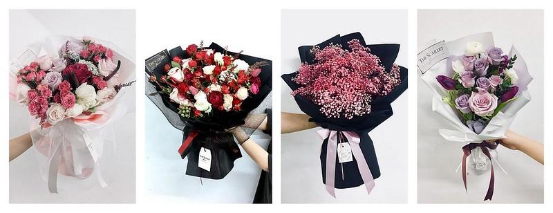 florist malaysia scarlet flower
