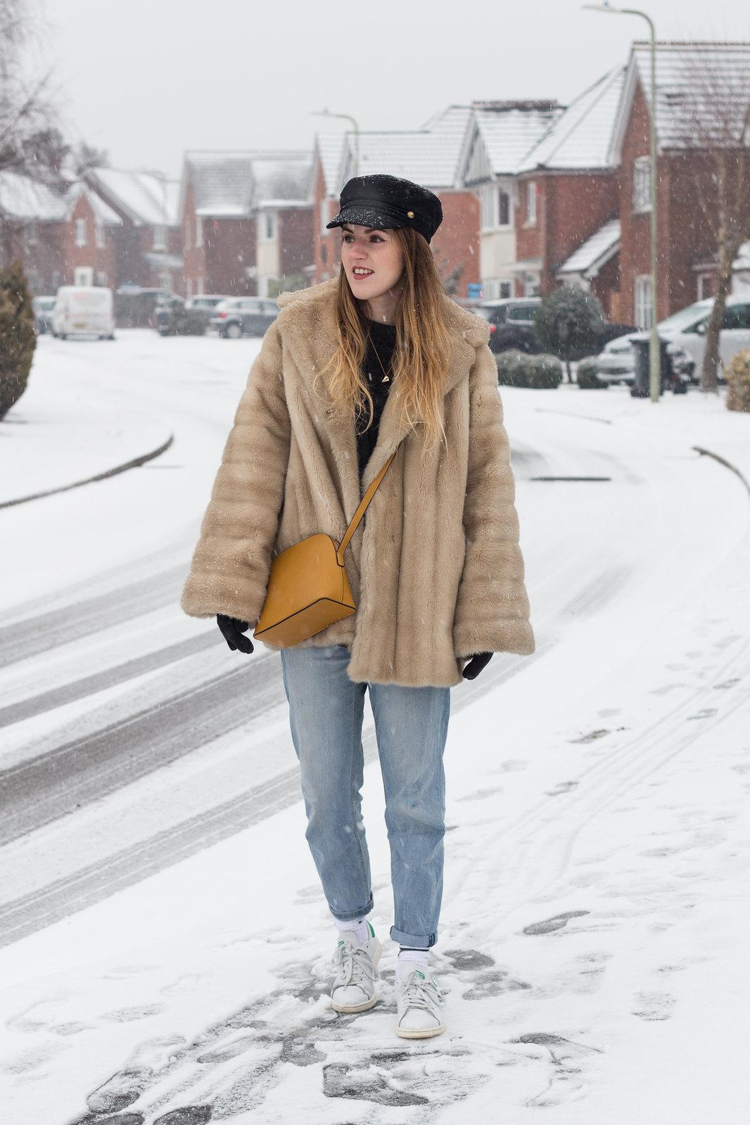 Fur Coat Snow-4