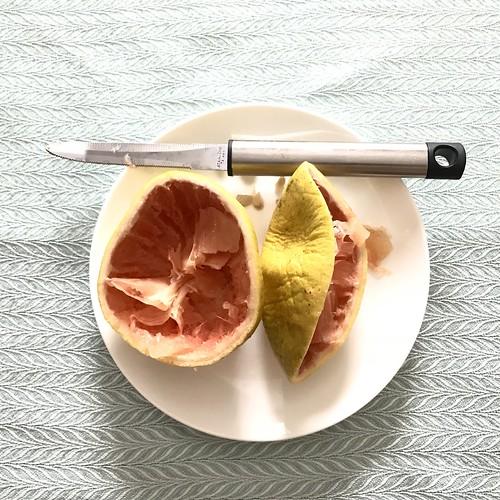 Grapefruit for breakfast