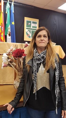 Mª José Muñoz García, presidenta de la A.V. La Moneda