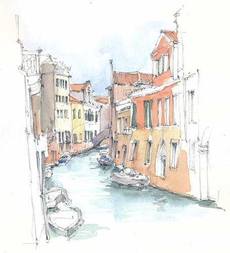 Venezia, Ramo al Ponte San Francesco, Italia
