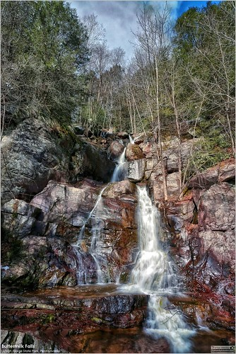 tomwildoner lehighgorgestatepark water waterfalls waterfall rocks trees canon canon6d march 2018 hiking rockport weatherly pennsylvania nature environment leisurelyscientistcom leisurelyscientist outdoors flowing flow white red