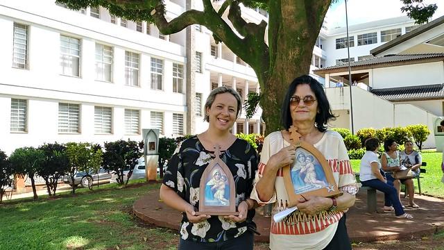 Mãe Peregrina ganha novos missionários em Londrina/PR
