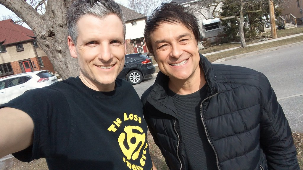 Gord Deppe from the Spoons and me