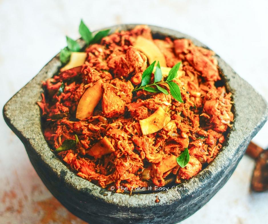 Kerala Chicken Ularthiyathu