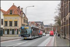 23-03-18 Qbuzz Mercedes-Benz CapaCity 3410, Groningen - Sint Walburgstraat