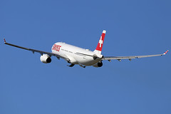 Swiss International Air Lines Airbus A330-343 HB-JHL