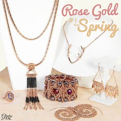 Did you know that Rose Gold has taken the world by storm? It was first introduced in the 1920's when Cartier sparked the trend for this metal by designing his Trinity ring, mixing Rose Gold with white and yellow gold. When Rose Quartz became the color of
