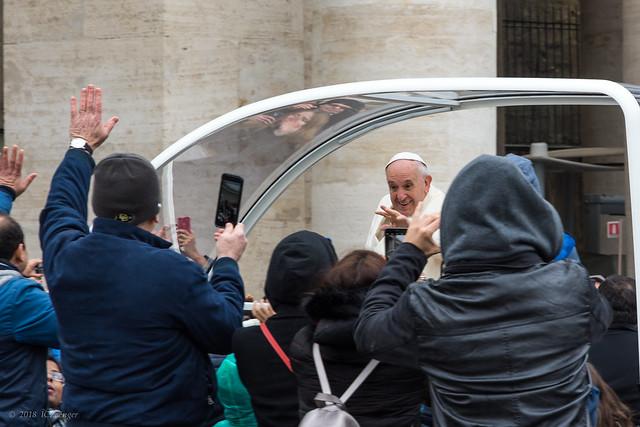 Rome 63 Vatican AshW the Pope - Papa Francesco 3