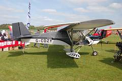 G-CDZY Medway SLA-80 [180406] Popham 020509