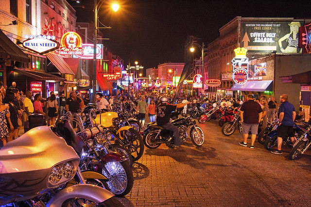Bike Nights on Beale Street - Memphis (Tennessee)