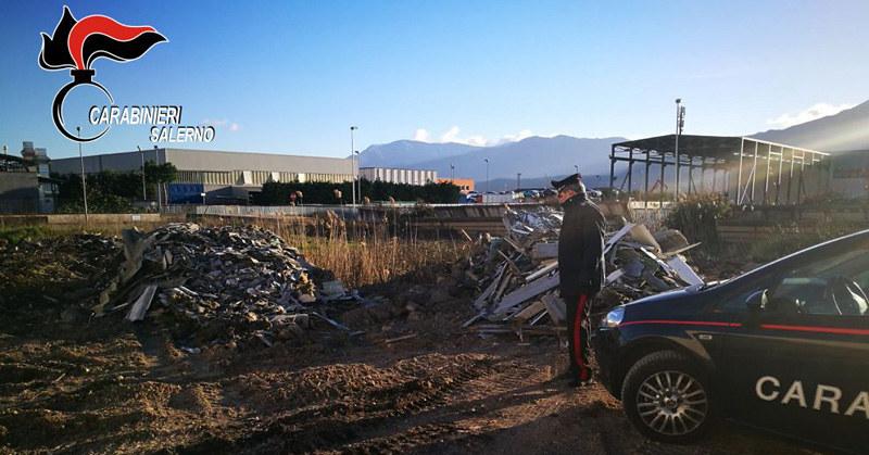 Carabinieri rifiuti a Polla