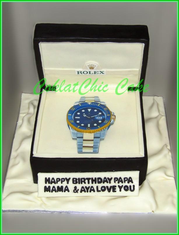 Cake Jam Rolex PAPA 18 cm
