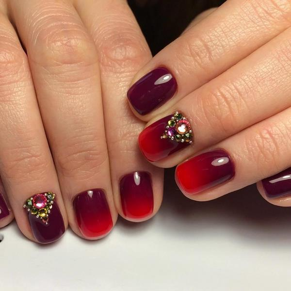Top nails 2018 trends fashionable colors - Styles Art
