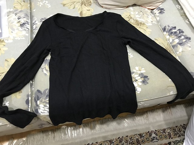 black thermal wear