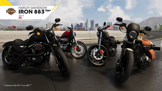 celebrate the crew 2 39 s release date announcement with a closer look at the harley davidson iron. Black Bedroom Furniture Sets. Home Design Ideas