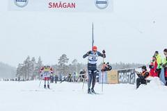 Výrazná stopa Bauer Ski Teamu na Vasově běhu: Smutná třetí, Šrail 60 km v úniku