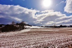 Snow in the stubble but yellow alert? Woman-up Met Office