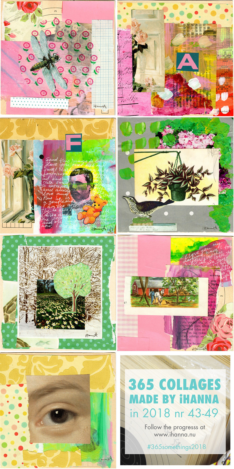 iHanna's 365 Somethings 2018 week 7 by iHanna #365somethings2018 #collage