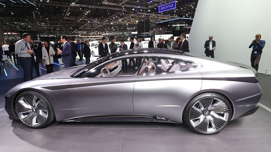 Hyundai Le Fil Rouge concept car