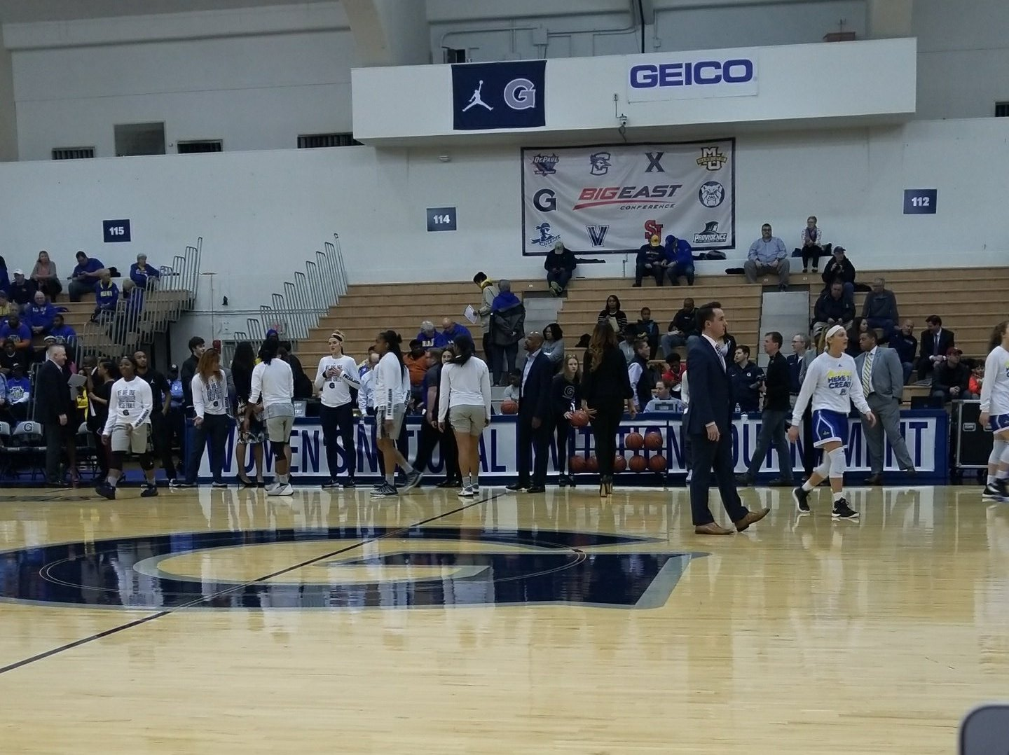 Women's team ousted by Georgetown in first round of WNIT