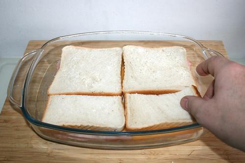 28 - Schicht Sandwichbrot hinzufügen / Add layer of sandwich toast