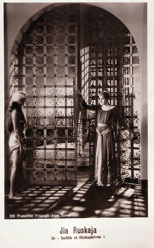 Jia Ruskaja in Giuditta e Oloferne (1929)
