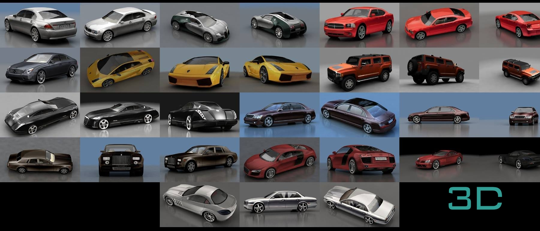 3d car models free download for 3ds max