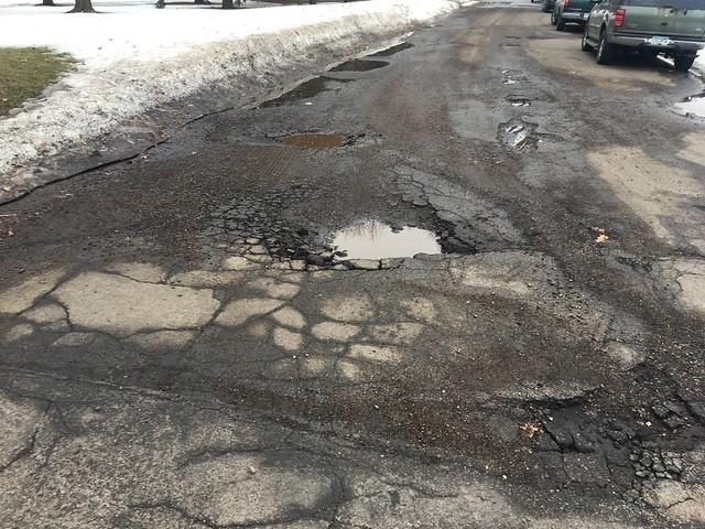 Pothole season 2018