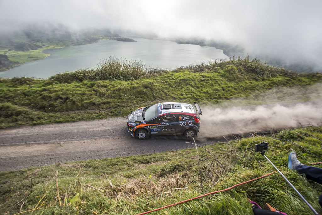 02 LUKYANUK Alexey (rus), ARNAUTOV Alexey (rus), RUSSIAN PERFORMANCE during the 2018 European Rally Championship ERC Azores rally,  from March 22 to 24, at Ponta Delgada Portugal - Photo Gregory Lenormand / DPPI