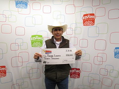 Frank Lavatta - $30,000 - Mega Millions - Pocatello - K&B Kwik Stop