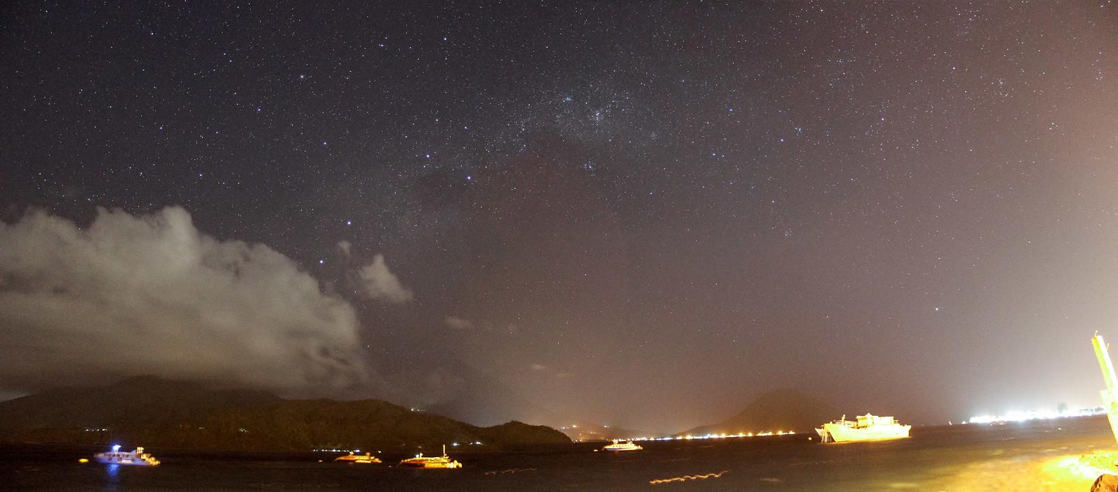 Stars from Ternate island