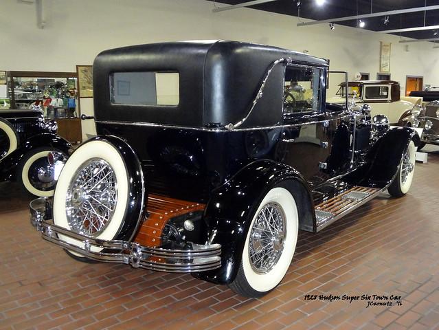 1928 Hudson Super Six Town Car