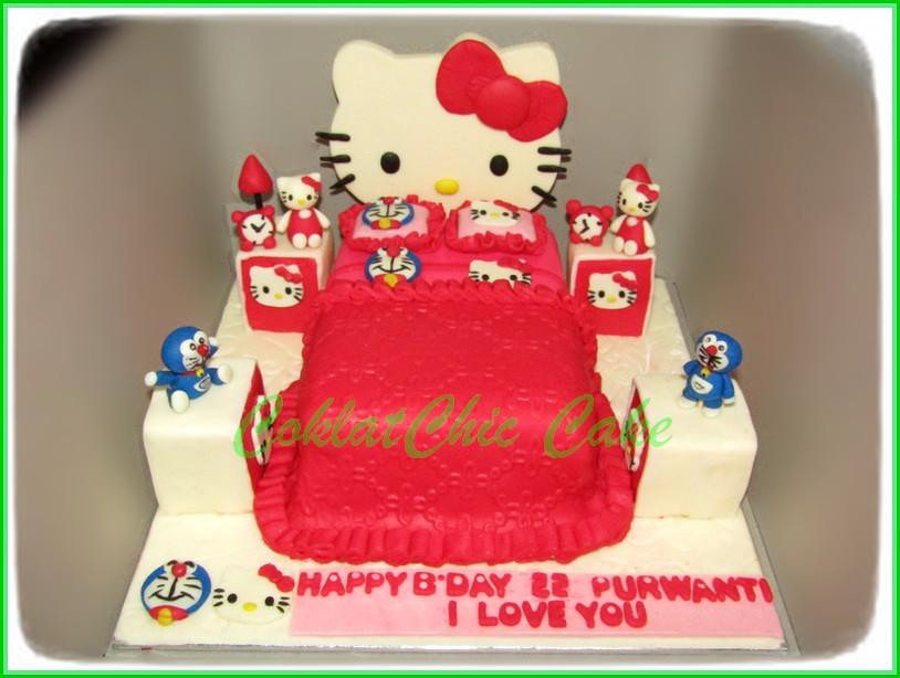 Hello Kitty Bedroom 15cm