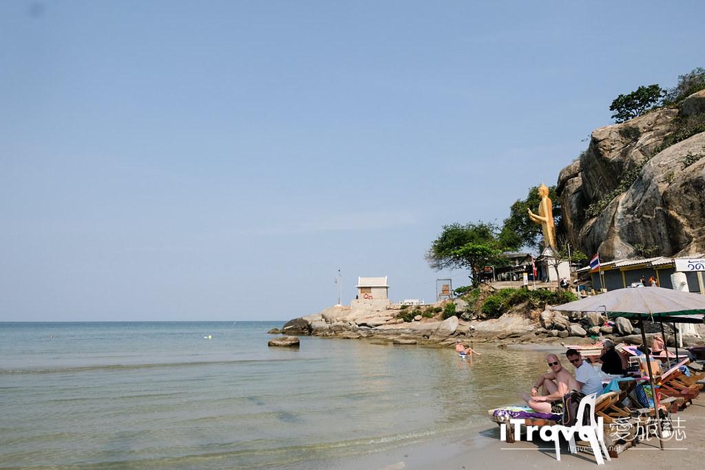 华欣景点推荐 筷子山海滩Khao Takiab beach (1)