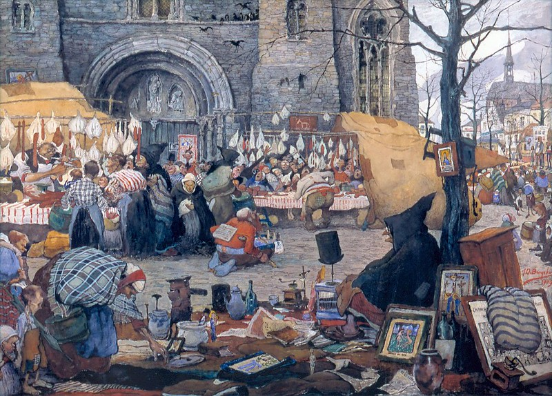 Jules De Bruycker - St. Jacobsmarkt  Gent