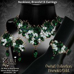 Zuri's Orchid Collection - EmeraldGold
