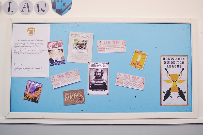 Harry Potter Notice Board